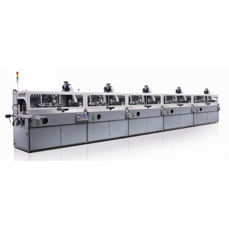 MULTI-COLOR AUTOMATIC SCREEN PRINTING MACHINE - Click Image to Close