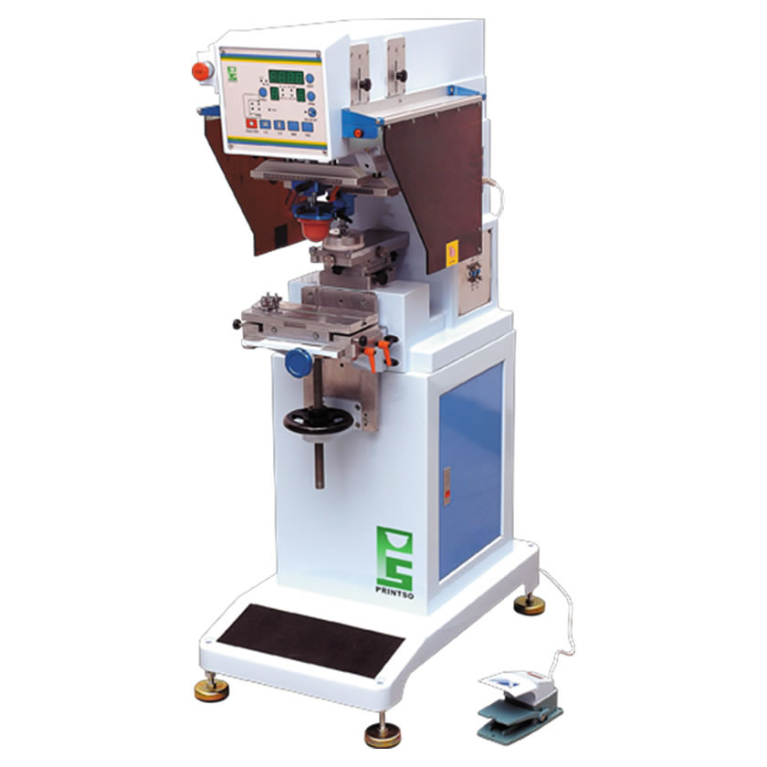 SINGLE COLOR PAD PRINTING MACHINE WITH 90mm INK CUP [PMC-90